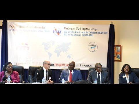 PM Rowley's remarks at the Regional Standardization Forum for Bridging the Standardization Gap (BSG)