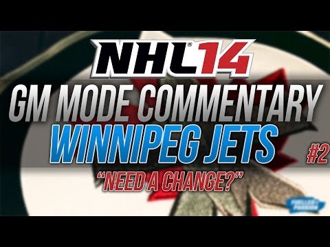 NHL 14 GM Mode Commentary | Winnipeg Jets ep. 2
