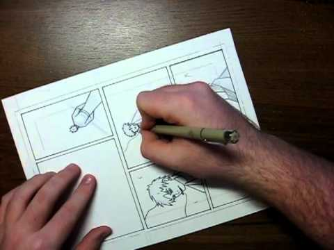 How to Make A Comic Book   Creating A Page
