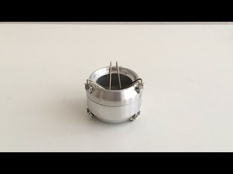How to make an alcohol stove - Tornado Cask Stove -