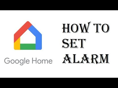 How To Set Alarm Clock Google Home Mini - Google Home Set Alarm Cancel Alarm