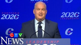 """""""I will not let you down"""": Erin O'Toole named new leader of the Conservative party"""