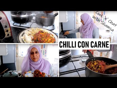 COOK 'N' CHAT WITH SHAMSA | CHILLI CON CARNE