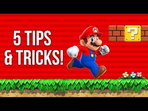 Super Mario Run: 5 BEST Tips & Tricks! + GIVEAWAY!!