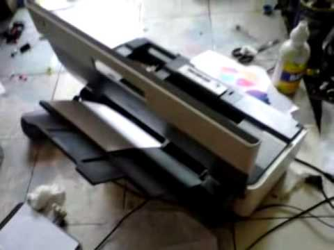 Printer Epson l 210 Hasil print putus putus