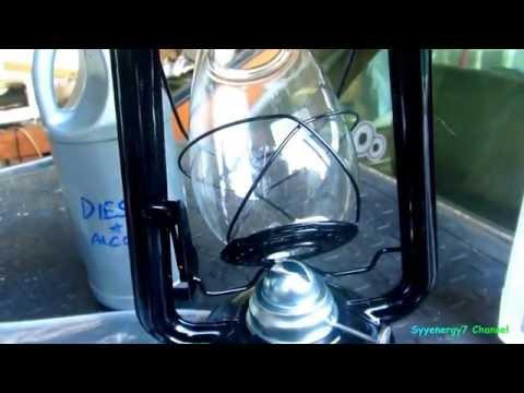 Diesel & Alcohol in an OIL LANTERN