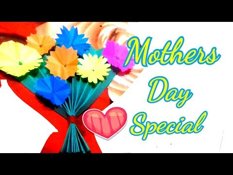 DIY paper craft ideas - EASY last minute craft ideas for mothers day | art and craft