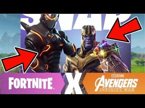 FORTNITE Marvel AVENGERS Infinity War NEW GAMEMODE + NEW THANOS SKIN COMING TO FORTNITE SEASON 4!