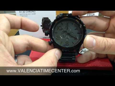 Nixon 51-30 Chrono Matte Black/Dark Tortoise Review by Valencia Time Center