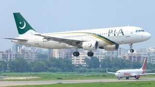 PIA A320 first Landing at NEW ISLAMABAD AIRPORT