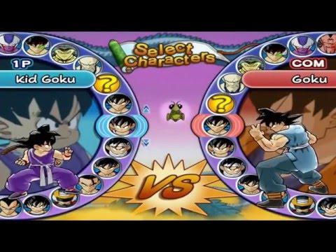 Todos los personajes | Dragon Ball Z Budokai 3 + como conseguirlos!
