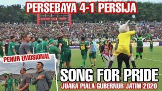 Ambyarr.!! Suasana Song for pride Persebaya vs Persija 4-1, Sang Juara Piala Gubernur jatim 2020