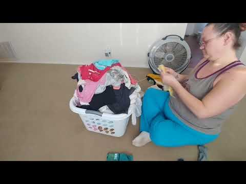 Clean with Me Laundry Mountain