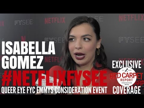 """Isabella Gomez interviewed at the """"One Day at a Time"""" Netflix FYSee Event #NetflixFYSee #ODAAT"""