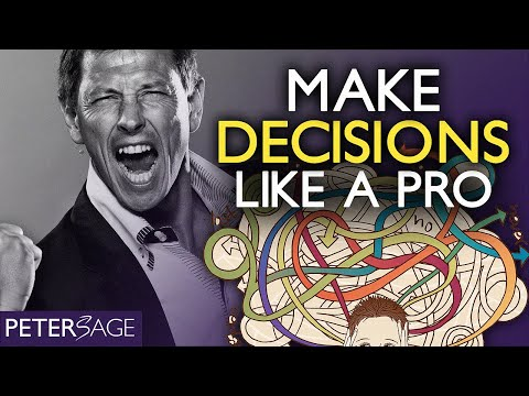 Decision Making in Management, Business and Life in general | Peter Sage's Process (Intuition)
