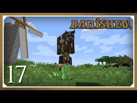 Minecraft Banished Modpack | Piggybackpack & Slime Sling | E17 (Harsh Survival Minecraft 1.10.2)
