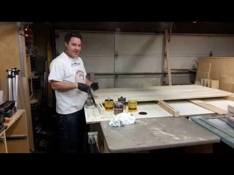 Building Double Barn Doors: Finishing