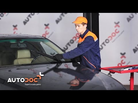 How to replacefront wipers bladesBMW 5 E39 TUTORIAL | AUTODOC