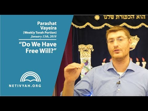 Parashat Vayeira: Do We Have Free Will? (part 1)