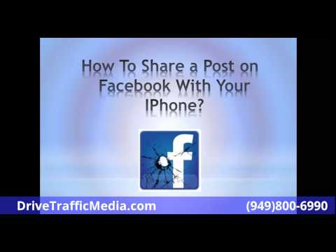How To Share Post on Facebook With Your Iphone From Your News Feed To Groups News Feed To Pages