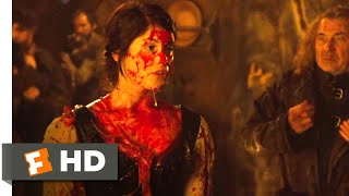 Hansel & Gretel: Witch Hunters (2013) - A Bloody Message Scene (3/10) | Movieclips