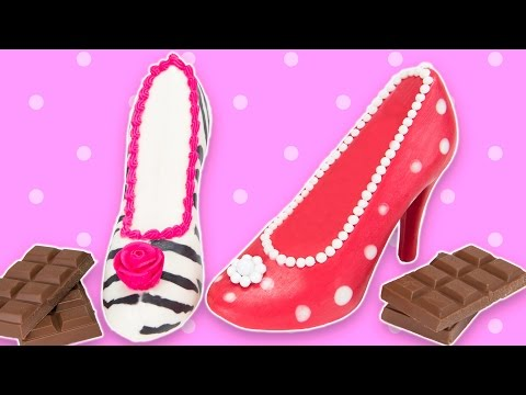 How to Make Chocolate Shoes from Cookies Cupcakes and Cardio