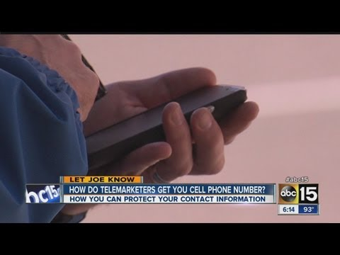 How do telemarketers get your number?