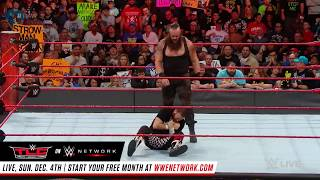 R-Truth vs. Braun Strowman: Raw, Nov. 28, 2016
