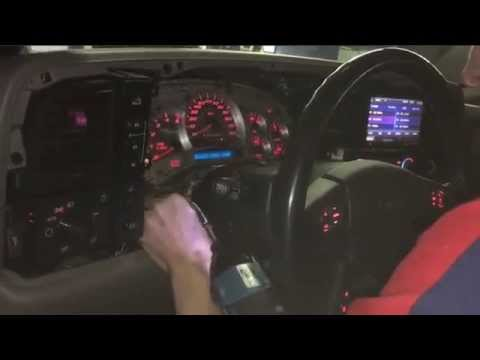 2003 Tahoe Instrument Cluster Removal