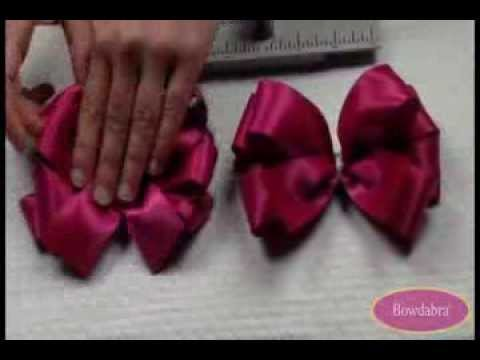 How to Make a Large Loopy Bowdabra Hair Bow