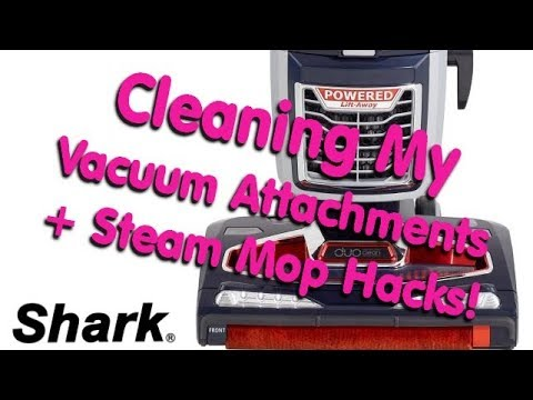 How to Clean Your Vacuum & Brushes, plus some steamer hacks !