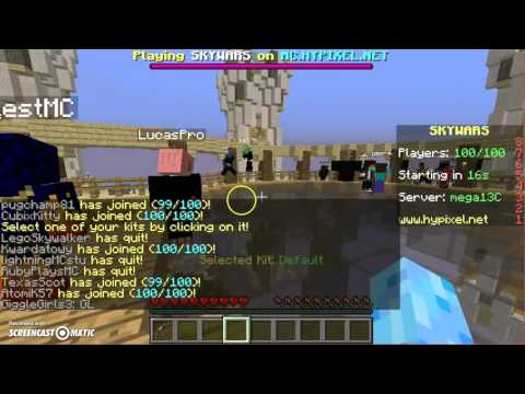 Minecraft | Hypixel | with codcasterPro