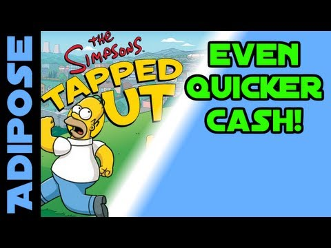 Simpsons Tapped out - Even quicker cash!