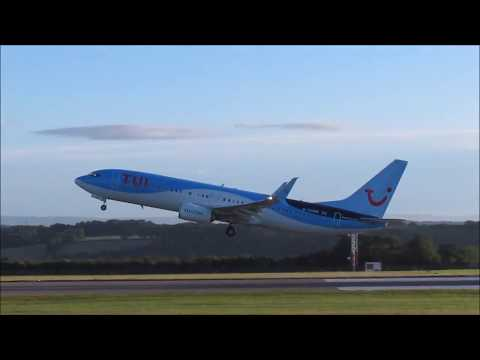 [HD] Bristol Airport Morning Planespotting 21/7/17