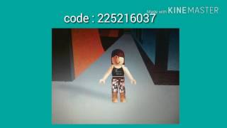 9 Roblox Codes For Girl 3 2 Years Ago