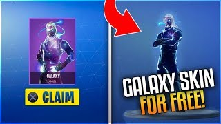 how to get galaxy skin in fortnite for free without note 9 Videos