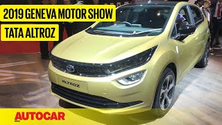 Tata Altroz - First Look Preview | Geneva Motor Show 2019 | Autocar India