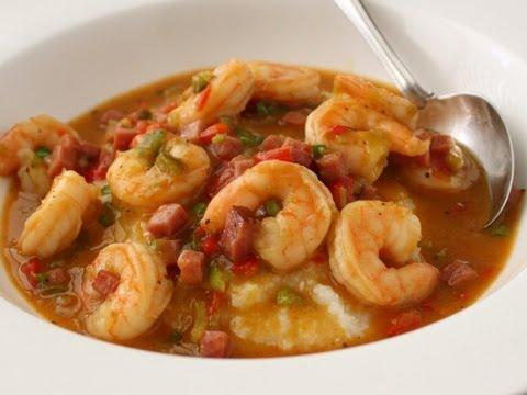 Ham and Shrimp Gravy Recipe - Spicy Ham Shrimp and Grits
