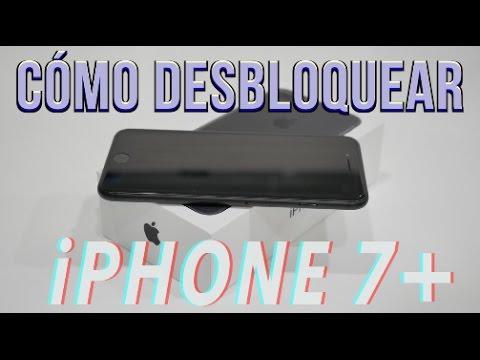 Cómo desbloquear un iPhone 7+ (PLUS) (Cualquier operador o país) Verizon, AT&T, Sprint, ETC