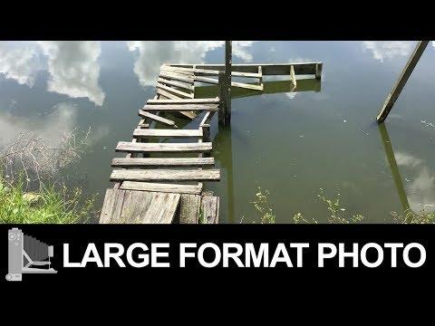 Broken Dock – Large Format Film Photography