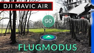 Dji Mavic Air Flugmodi: Active Track, Tap Fly, Poi, Cinematic, Stativ [deutsch]