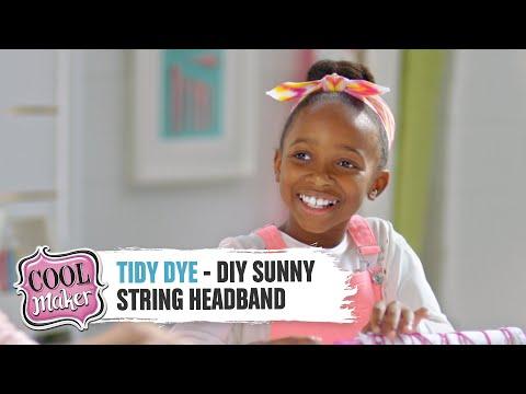 Tidy Dye - DIY Sunny String Headband
