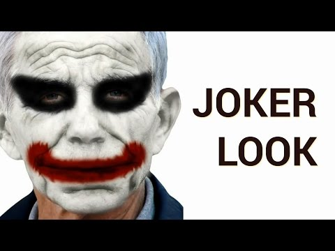 How to Create a Joker make-up (from Batman) Effect in Adobe Photoshop