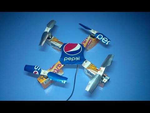 Wow! How to Make a Quadcopter at Home With DC Motor. Bucee Brain