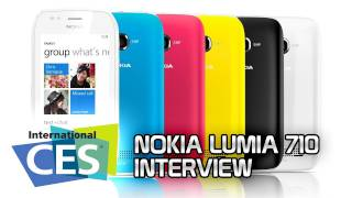 GIGA AUF DER CES - Interview with Nokia Product Manager of Nokia 710 (engl.)