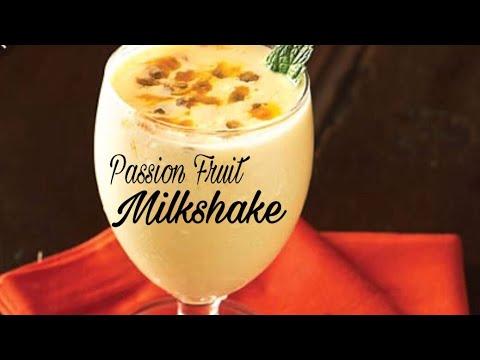 Passion Fruit Milkshake | Passion Fruit Juice | Passion Fruit Smoothie