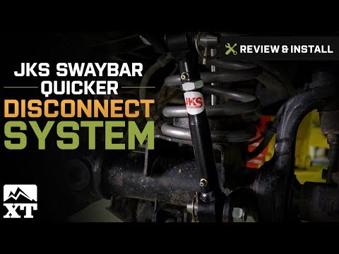 Jeep Wrangler (2007-2017 JK) JKS Front Swaybar Quicker Disconnect System Review & Install