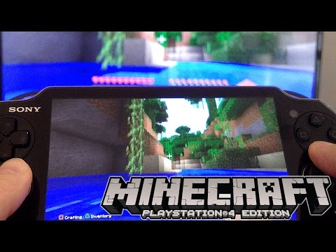 Minecraft PlayStation 4 Review: Vita Remote Play, Split Screen