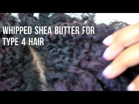 DIY Whipped Shea Butter For Moisture (Type 4 Hair)