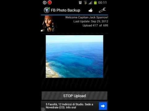 Facebook Photo Backup